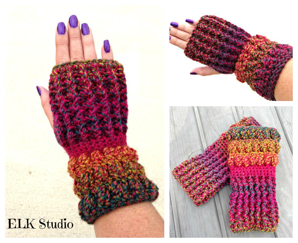 Christmas Present CAL Project #4 Worsted Weight By ELK Studio Get your FREE Crochet Pattern!