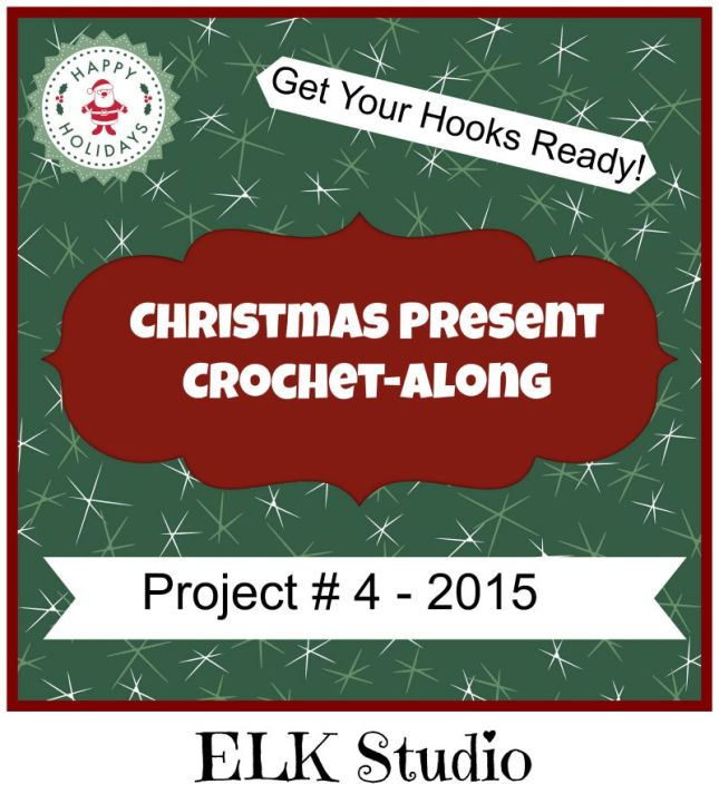 Christmas Present CAL Project #4 by ELK Studio
