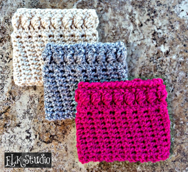 Christmas Present Crochet-Along Project #5 Worsted Weight - A Free Boot Cuff Pattern by ELK Studio