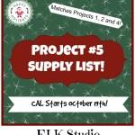 Christmas Present Crochet-Along Project #5 Supply List