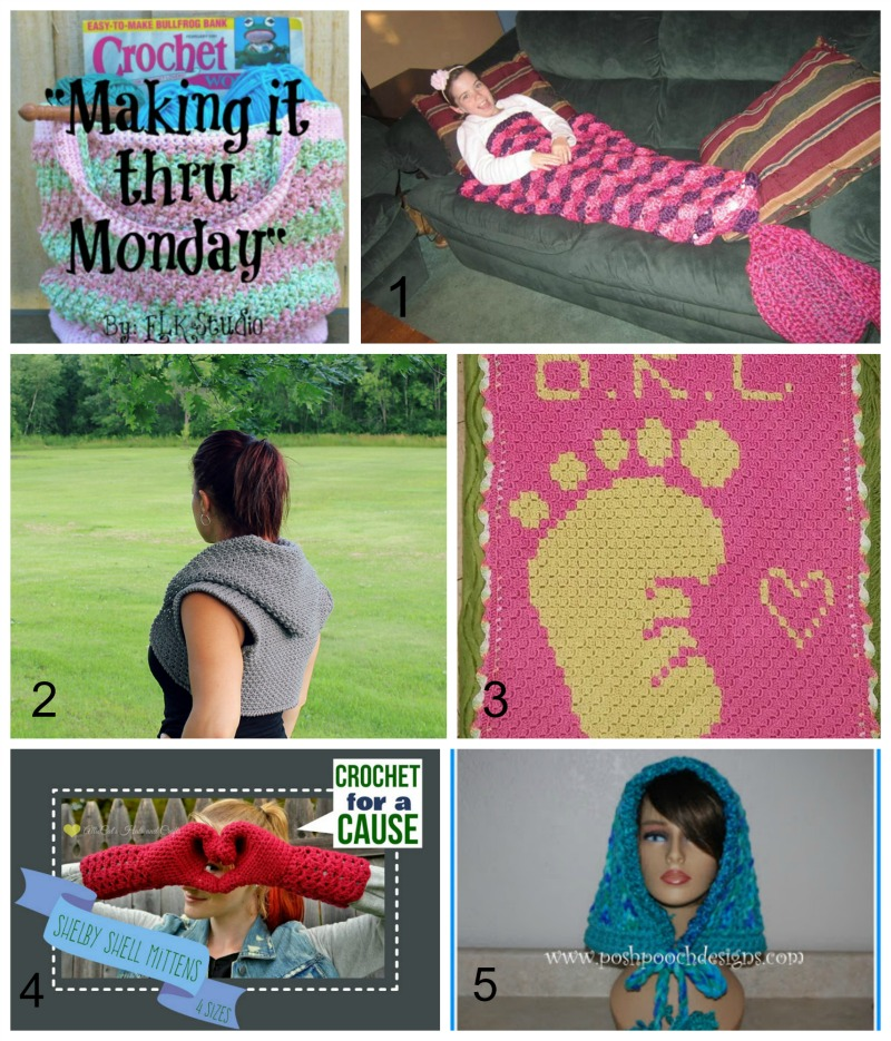 Making it thru Monday Crochet Review #98 by ELK Studio