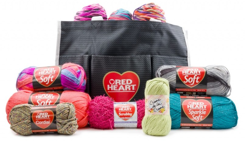 ELK Studio is Celebrating with a Red Heart Yarn Giveaway!
