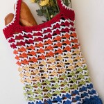 Rainbow Runner Tote Bag