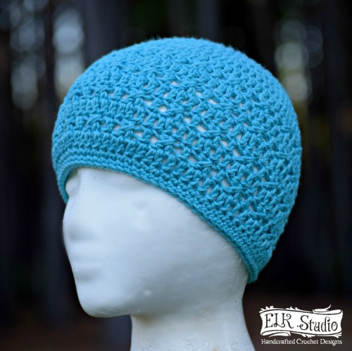 Saving You Summer Beanie by ELK Studio, A FREE Pattern for YOU!