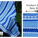 Southern Diamonds Baby Blanket Edging Tutorial
