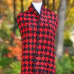 Houndstooth At Large Scarf