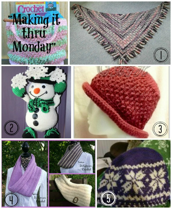 Making it thru Monday Crochet Review #119
