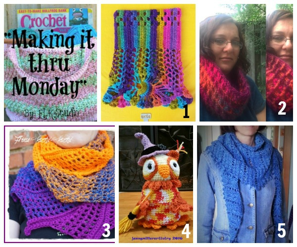 Making it thru Monday Crochet Review #122