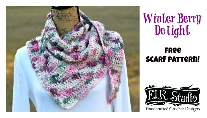 Winter Berry Delight Scarf!