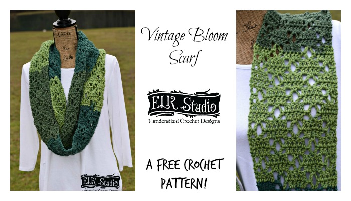The Vintage Bloom Scarf!