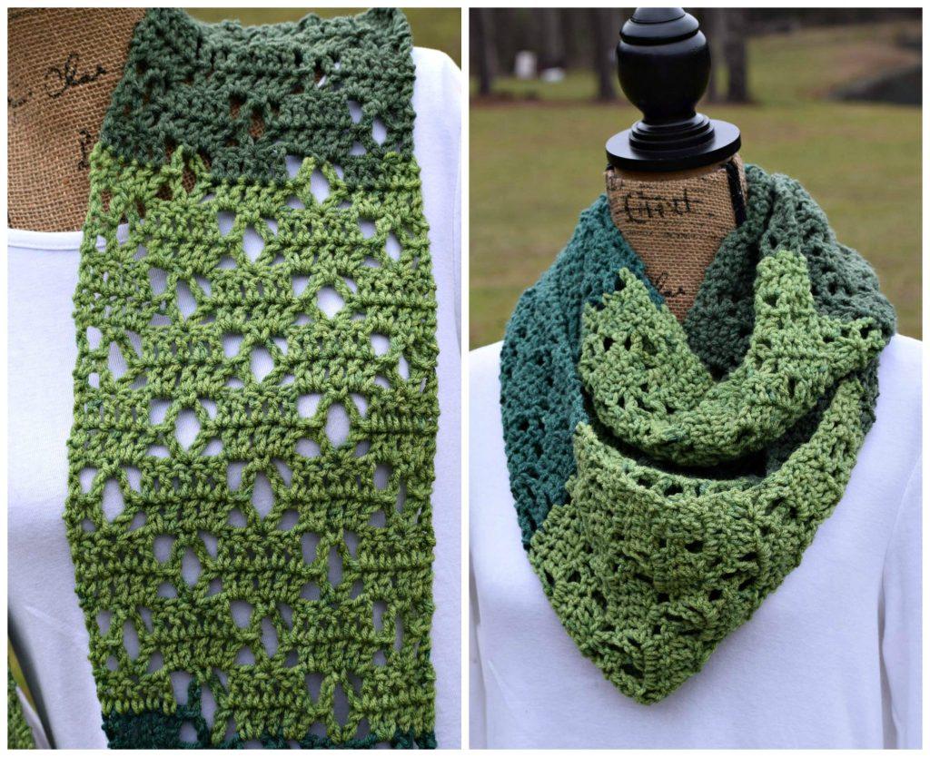 Crochet Patterns For Sweet Roll Yarn : The Vintage Bloom Scarf! - ELK Studio - Handcrafted ...