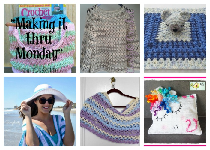 Making it thru Monday Crochet Review #137