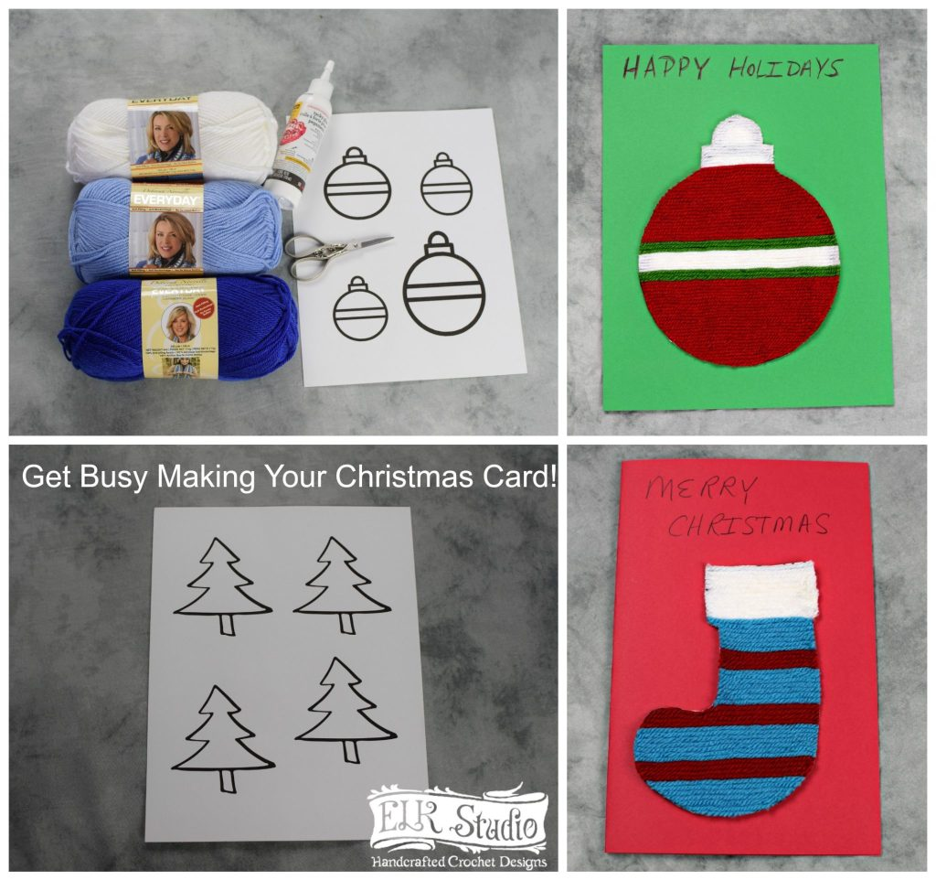 Kid\'s Christmas Project #4 - ELK Studio - Handcrafted Crochet Designs
