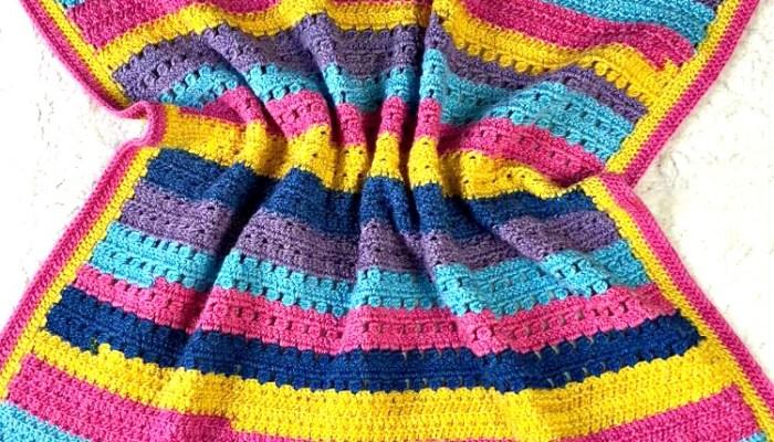 Hannah Kate's Baby Blanket Week 2