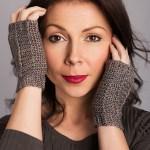 ELK Studio Saturday Crochet Show #103 Decadence Fingerless Mitts