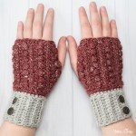 ELK Studio Saturday Crochet Show #103 Malia Wrist Warmers