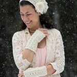 ELK Studio Saturday Crochet Show #103 Primrose and Proper Fingerless Gloves