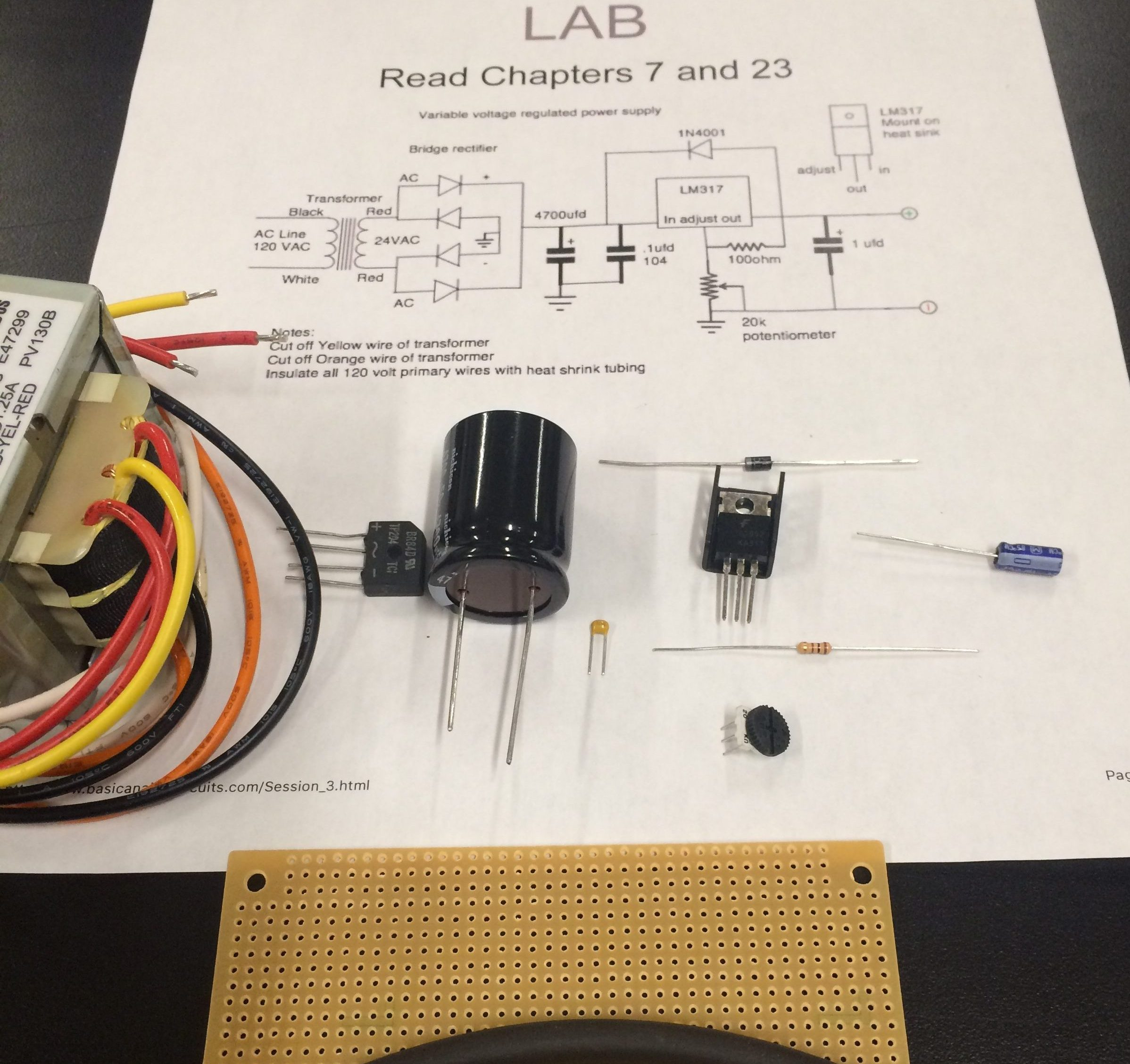 Led Timing Light Circuit Via Andrew Davidhazy