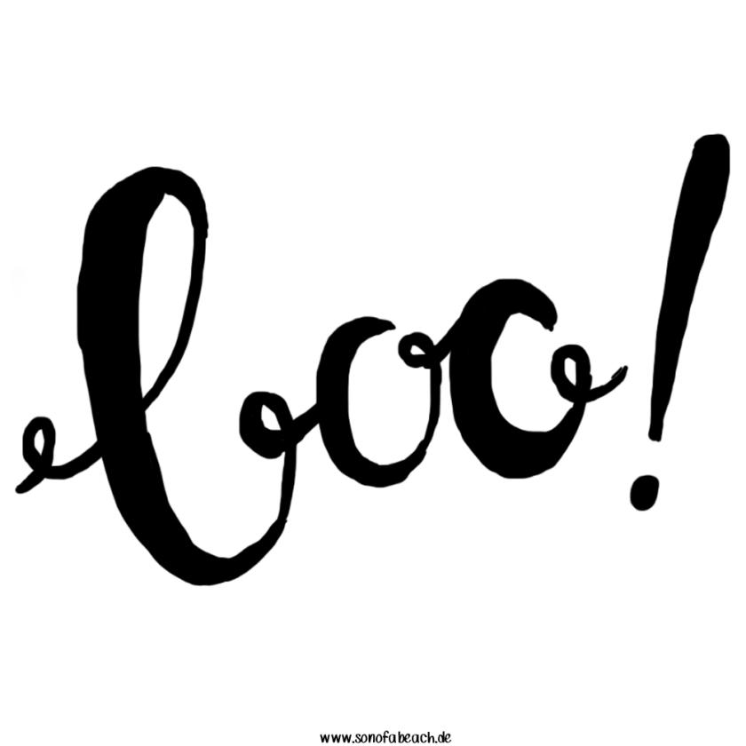 BOO! Schriftzug