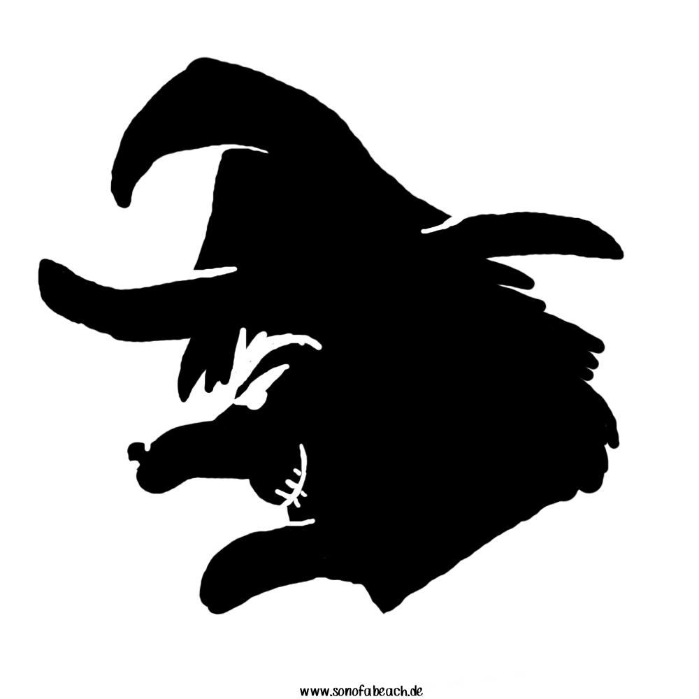 hexe halloween Fratze