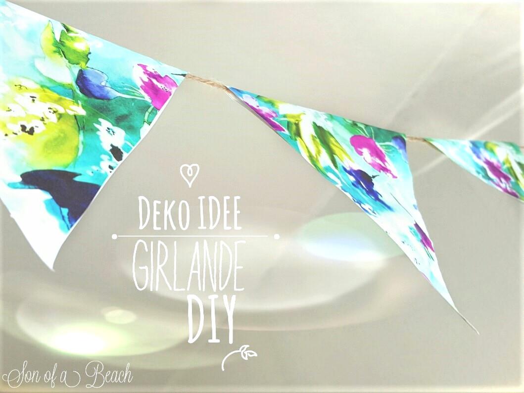 Deko Idee Girlande Diy