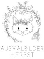 HERBSTLICHE AUSMALBILDER DIY BASTELN