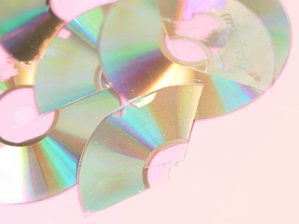 basteln mit cd rohline diy