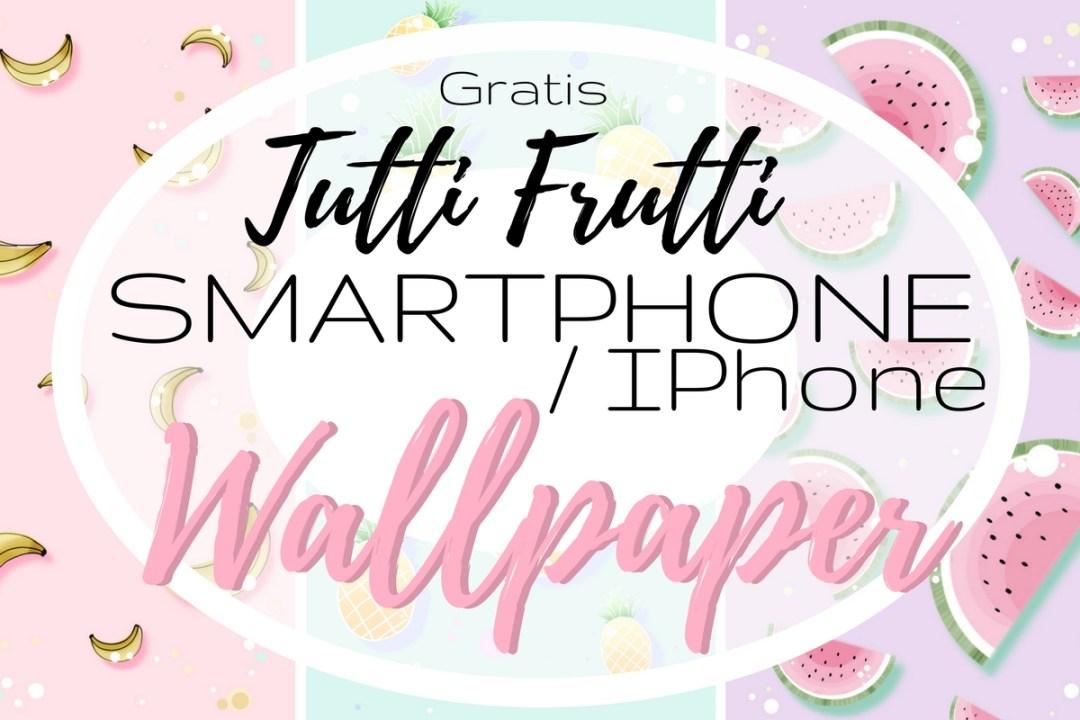 gratis smartphone iphone android wallpaper hintergründe handy free kostenlos melone früchte banane ananas