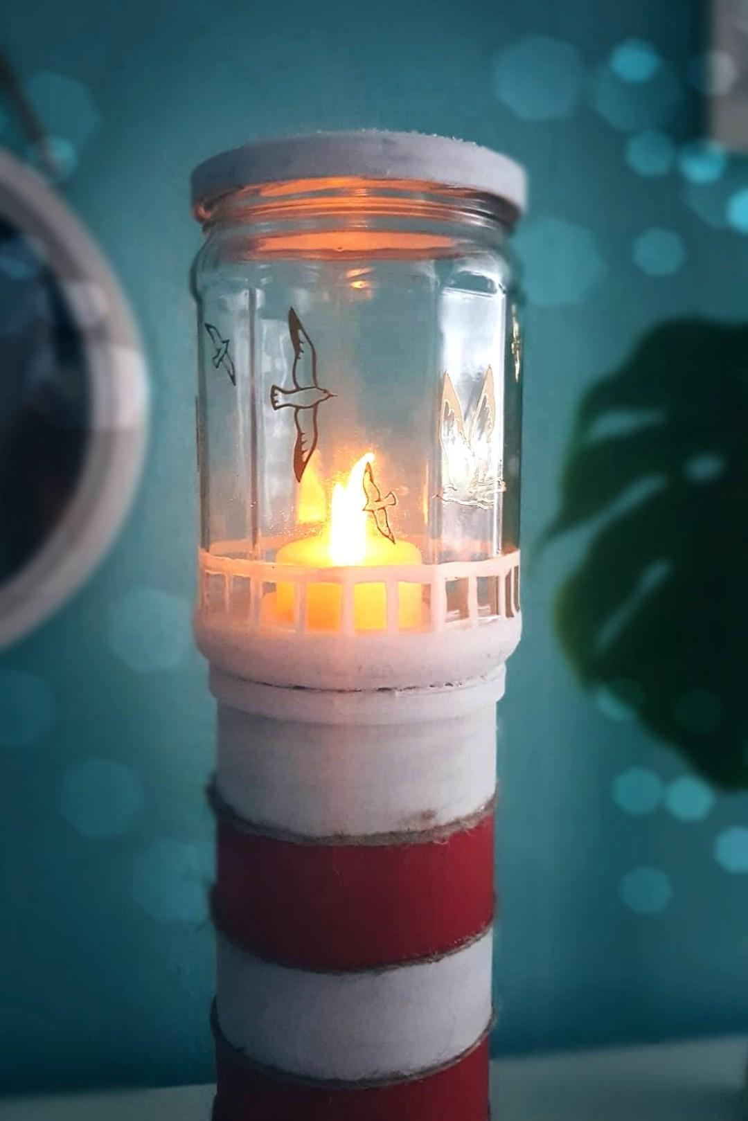 leuchtturm diy deko maritime bastelidee2