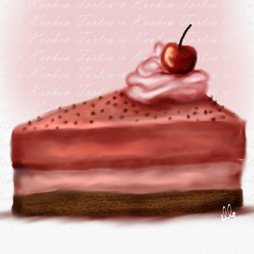 torte illustration food essen