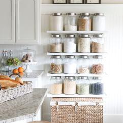Kitchen Shelf Island Light Fixture Diy Jar Shelves Tutorial Ella Claire Fall 2015 Home Tour