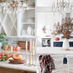 Fall Kitchen Decor Exhaust Fans Home Depot Simple Early Decorating Ideas Nina Hendrick Make Sure To Stop By And Visit My Friends Sharing Their Today For The Seasons Of Holiday Series