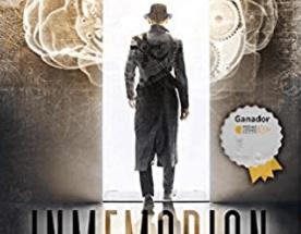 Portada de Inmemorian, novela de Ismael Santiago Rubio.