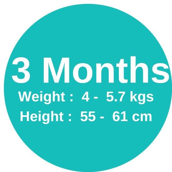 3m (4-5.7kgs)