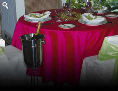 chair covers for rent in trinidad amish poly adirondack chairs linen at ellco rentals barbados equipment hire wedding cover white fits standard folding only