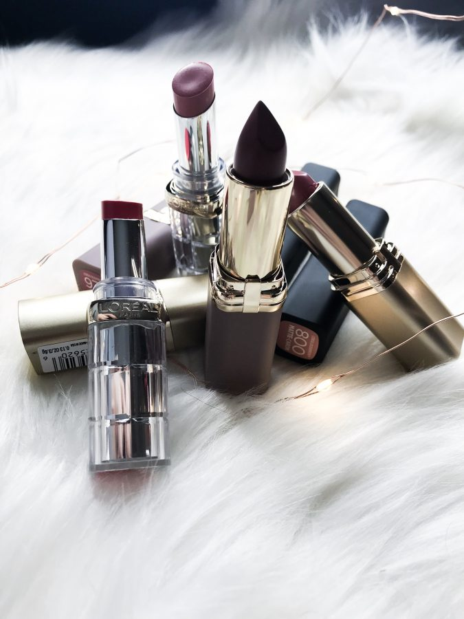 Loreal Color Riche Lipstick Collection Review