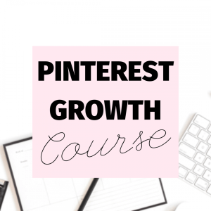 Ell Duclos pinterest growth course