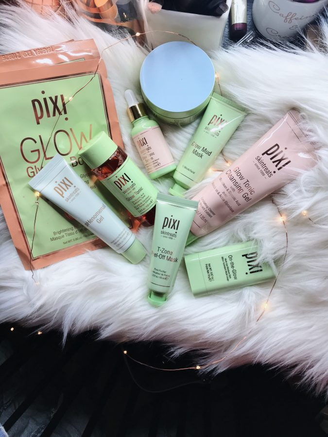 Pixi beauty skin care products and skin treats review.