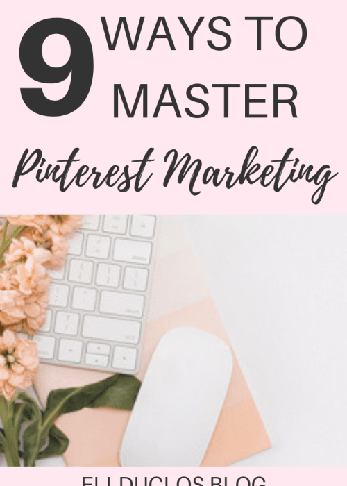 9 Pinterest hacks to help you grow your blog traffic and Pinterest views! Master Pinterest marketing this year!