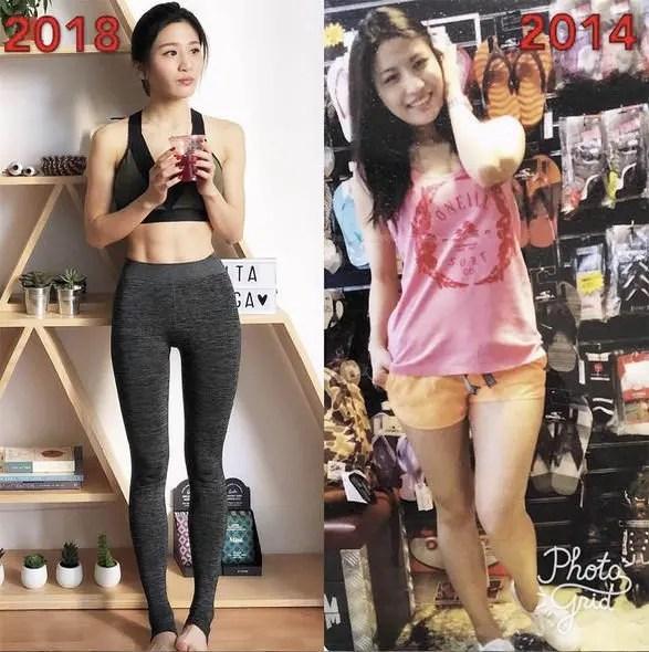 兩星期瘦腿+減肚腩!跟Coffee 林芊妤學8招產後減肥法。練出「筷子腿」及腹肌!