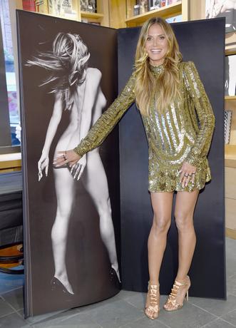 Heidi Klum nackt Hier gibts die Bilder von Starfotograf