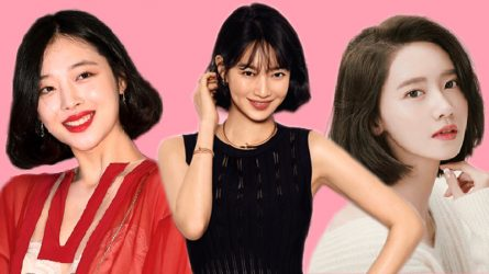 Korean beauties promote beauty thanks to short haircut