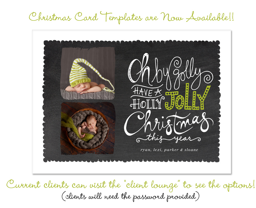 2013 Christmas Cards Templates Are Here Elle Bee