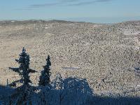 Winter view at Flesberg