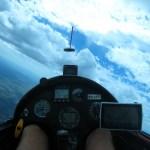 Over Mt. Borah