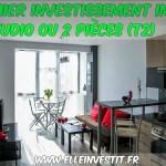 Premier investissement immo : studio ou 2 pièces (T2)