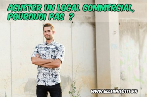 local commercial rentabilité