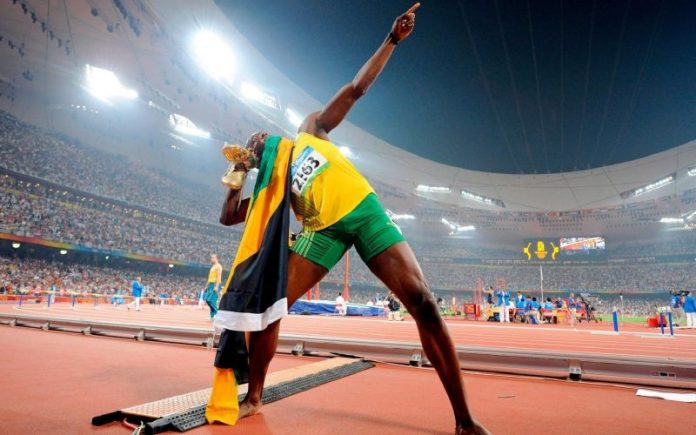 "With Usain Bolt - The man dubbed ""Black Lightning"", running is not only forging strong legs"
