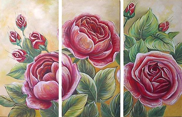 Blumen Trio