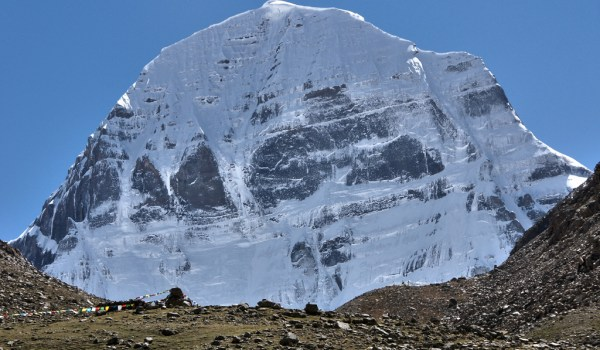 Day 1 of the kora: the north face of Mount Kailash (2010)
